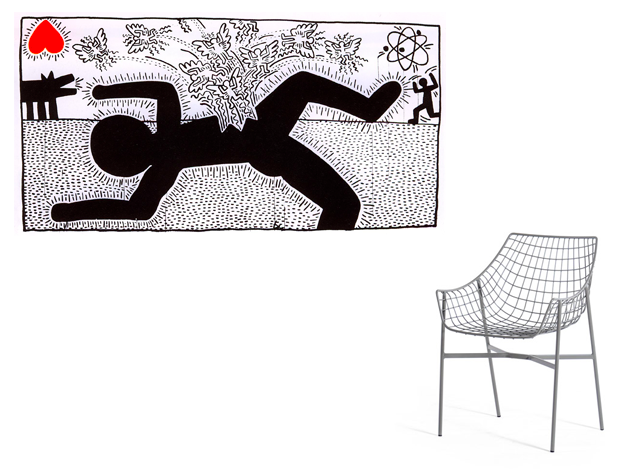 Keith Haring + Christophe Pillet
