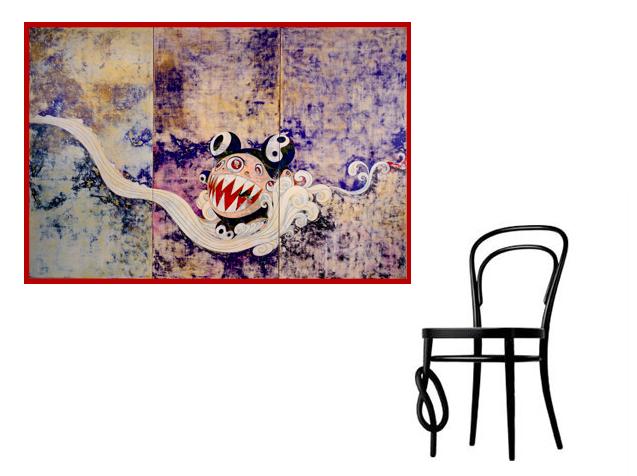 Takashi Murakami + Michael Thonet