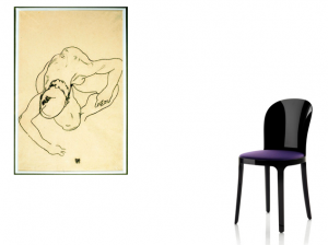 Egon Schiele + Stefano Giovannoni