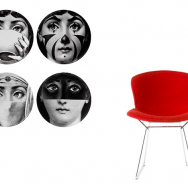 Piero Fornasetti + Harry Bertoia